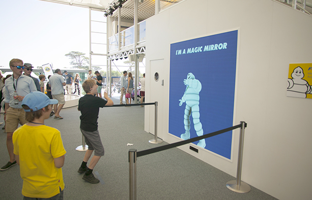 Michelin interactivity